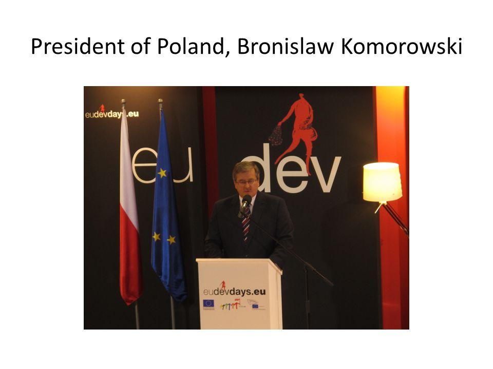 President of Poland, Bronislaw Komorowski