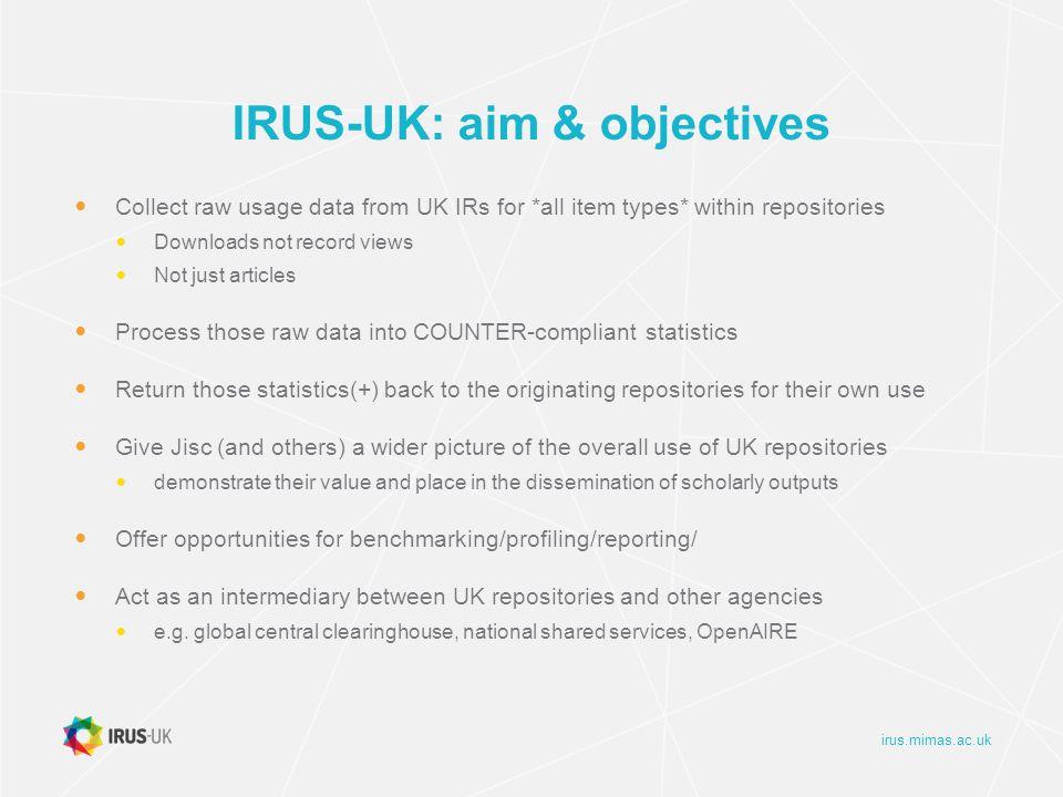 irus.mimas.ac.uk IRUS-UK: IR1 Report LSE Sep-Oct 2013