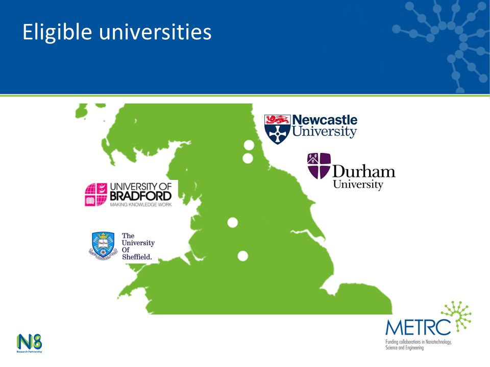 Eligible universities