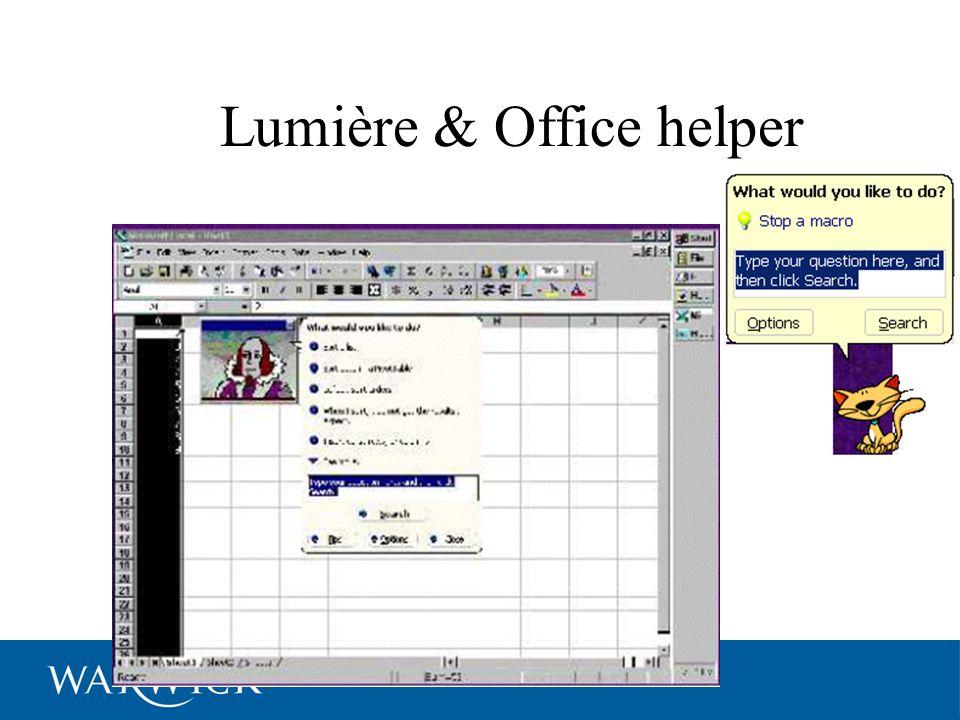 Lumière & Office helper