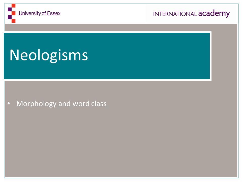 Morphology and phonology
