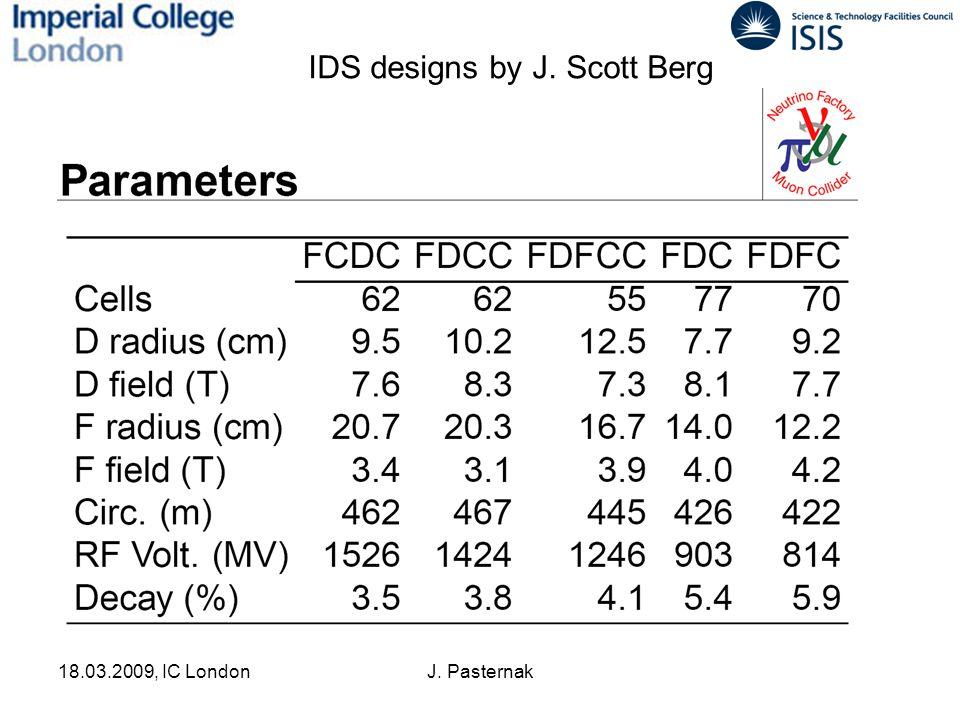 18.03.2009, IC LondonJ. Pasternak IDS designs by J. Scott Berg