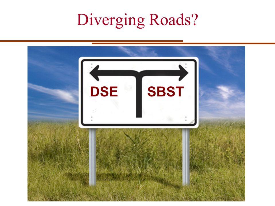 Diverging Roads DSESBST