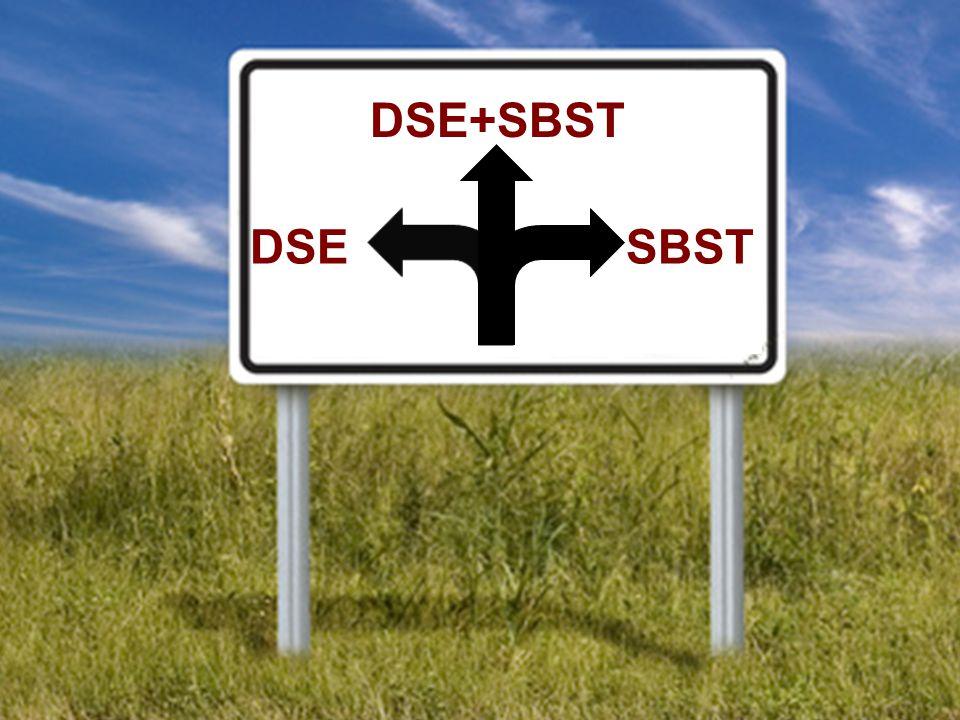 DSE DSE+SBST SBST