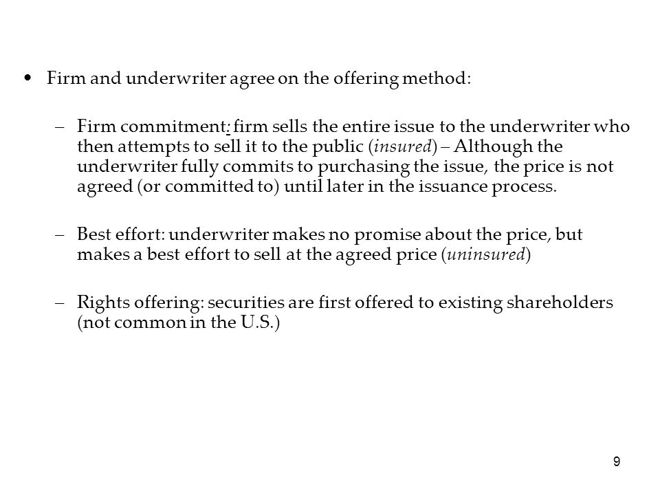 40 If an issue is overpriced (price=PH), only the high bidders are allocated shares.