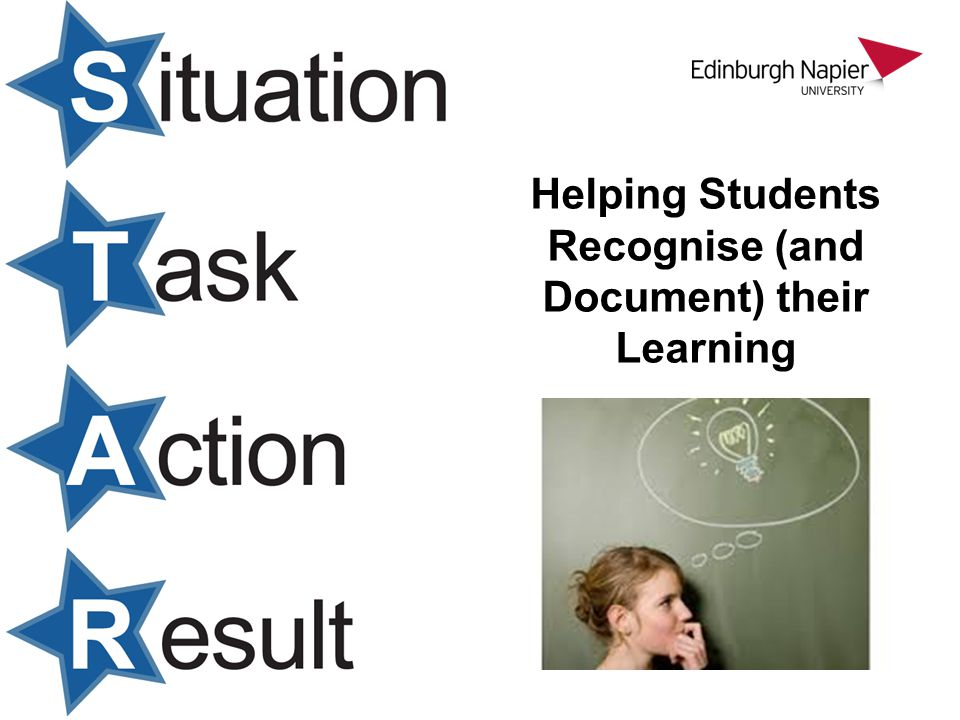 Helping Students Recognise (and Document) their Learning