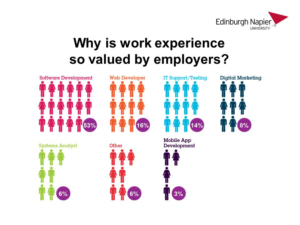 Why is work experience so valued by employers