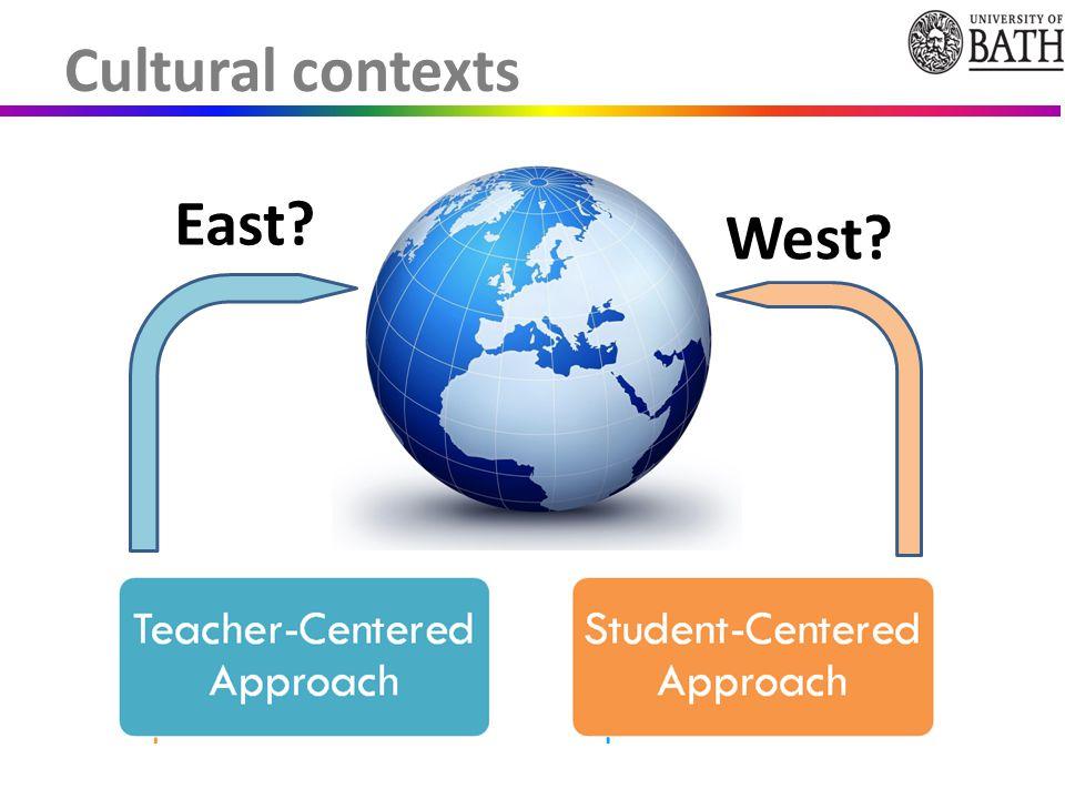 Cultural contexts East? West?
