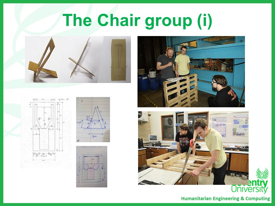 The Chair group (i)