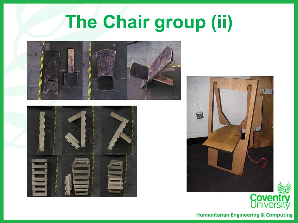 The Chair group (ii)