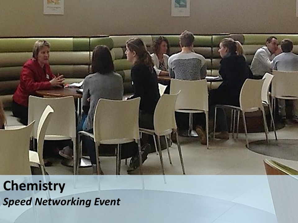 Chemistry Speed Networking Event