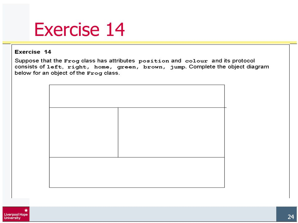 24 Exercise 14
