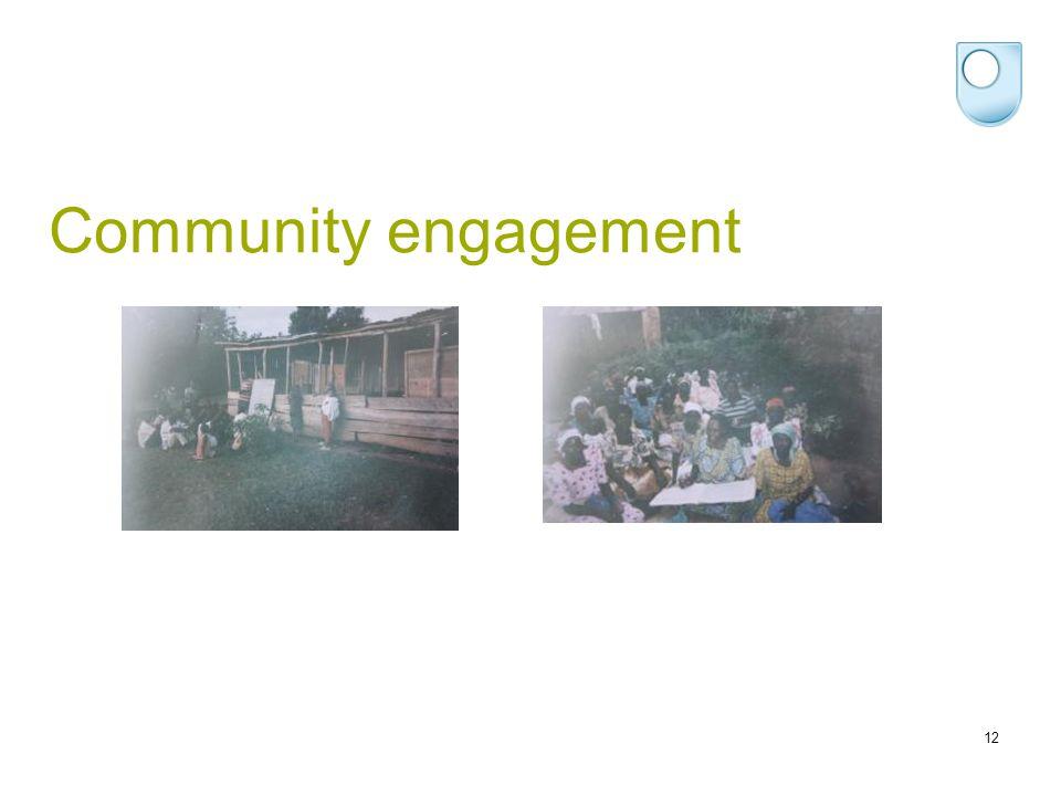 Community engagement 12