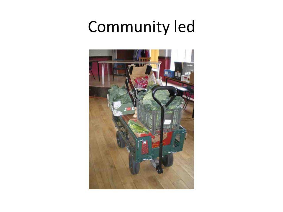 Community led