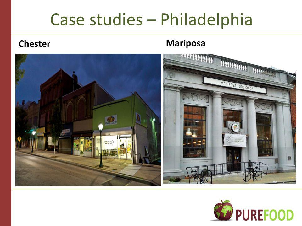 Case studies – Philadelphia Chester Mariposa