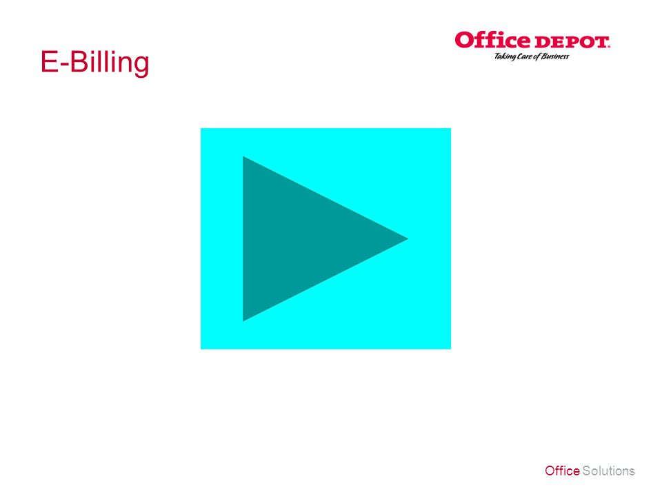 Office Solutions E-Billing