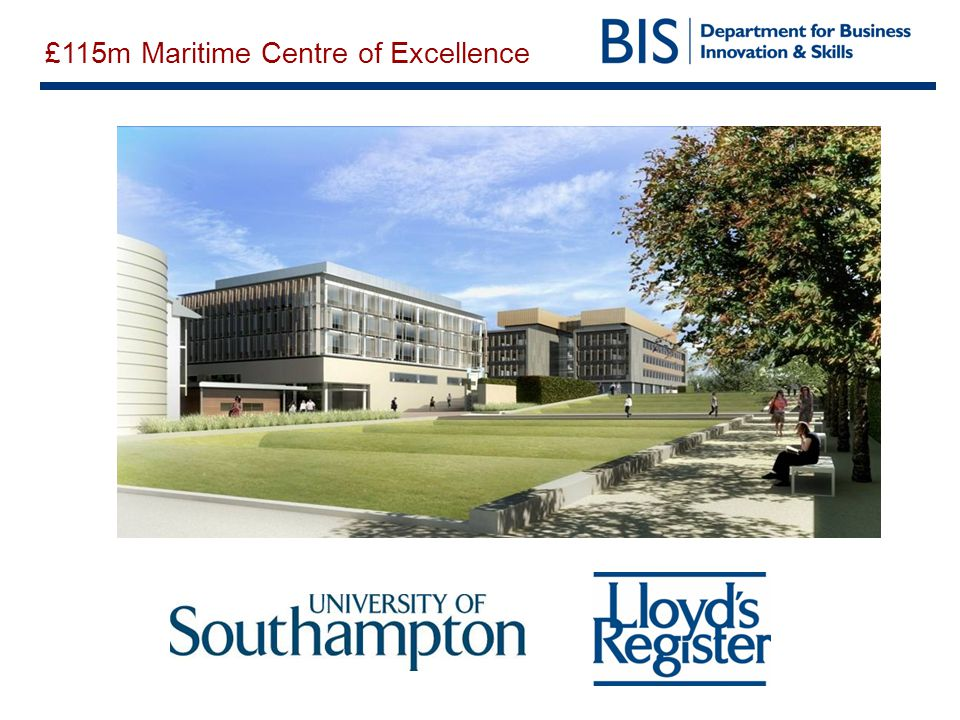 £115m Maritime Centre of Excellence