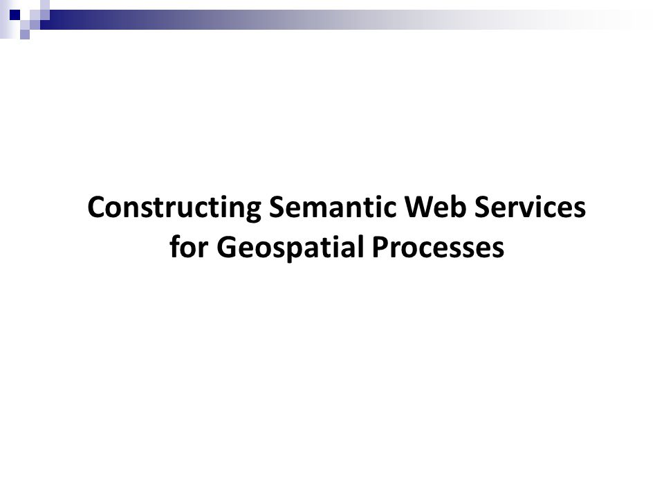 To utilise the semantic information , we need semantic processes .