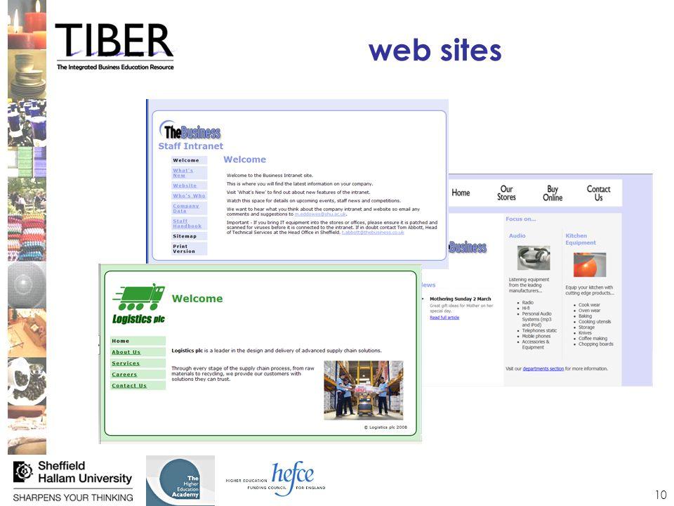 10 web sites