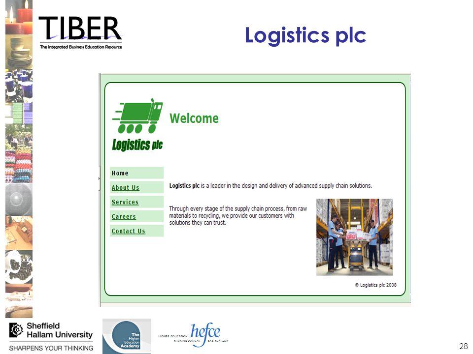 28 Logistics plc