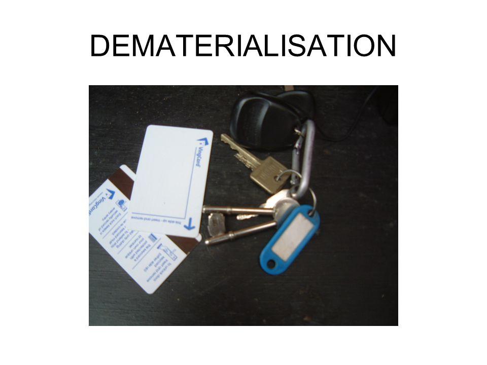 DEMATERIALISATION