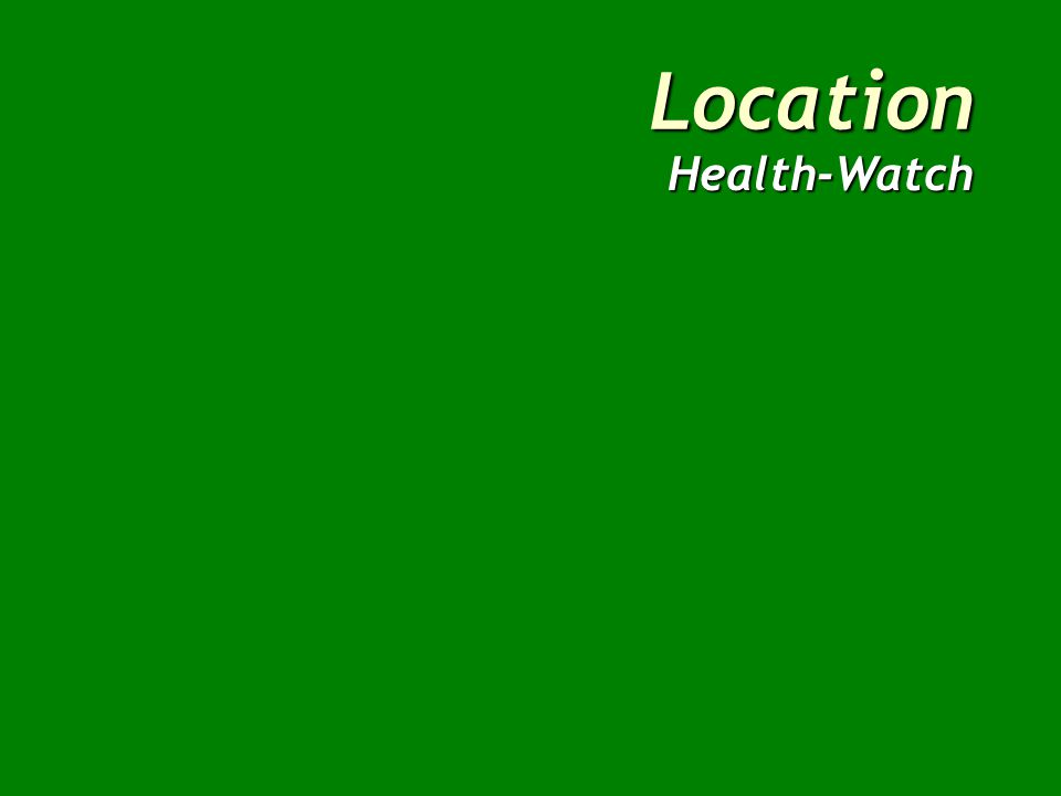 Location Health-Watch North Location FactorWeightScore Total Patient miles per month254 Facility utilization203 Average time per emergency trip203 Expressway accessibility154 Land and construction costs101 Employee preference105 WS=340 Weighted Score