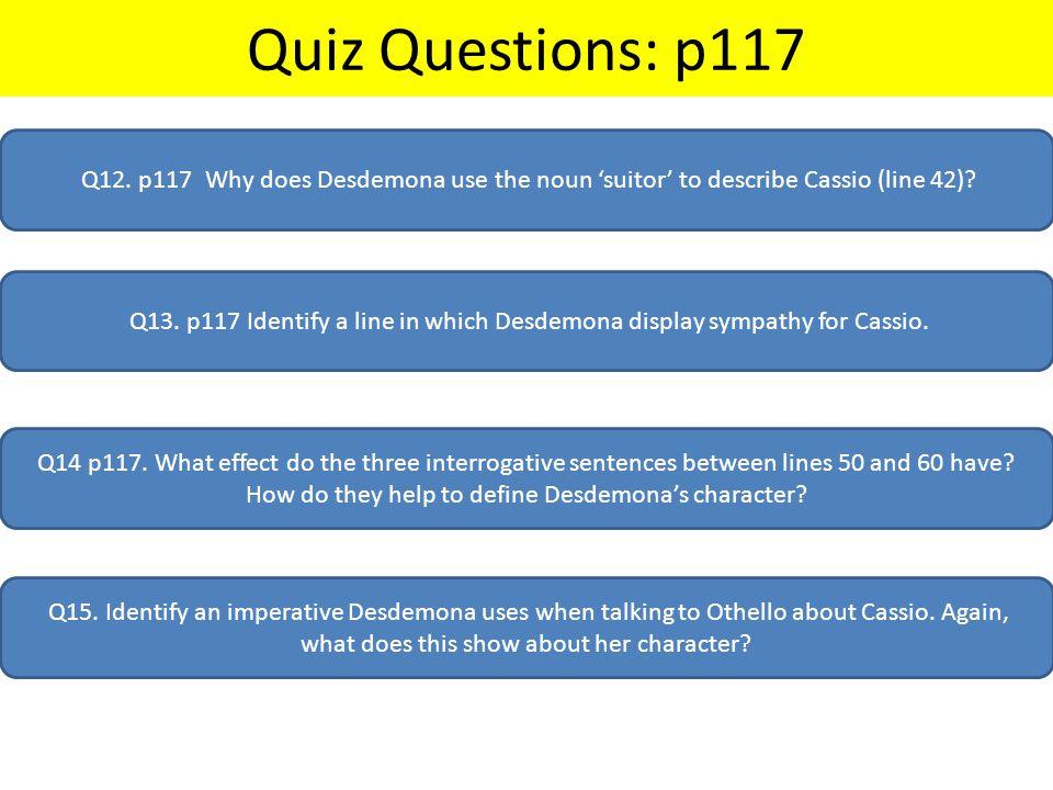 Quiz Questions: p117 Q12.