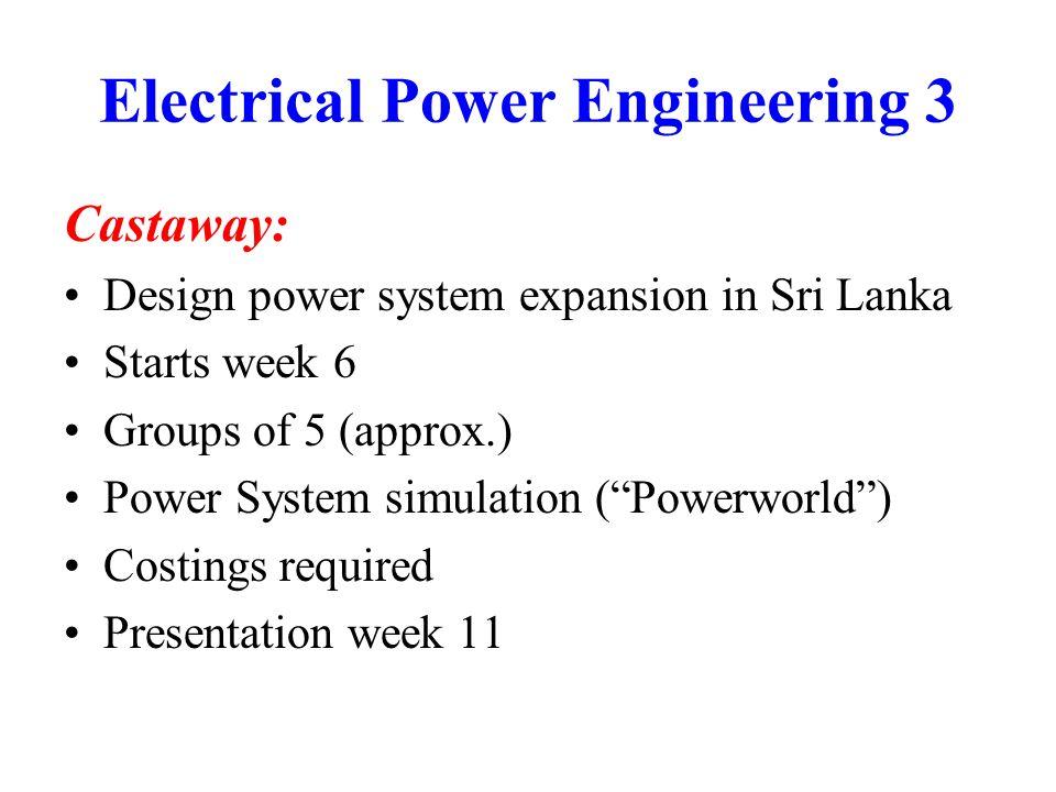 Applications Electronic Power Supplies: All electronic equipment needs a power supply Worldwide market: $20 billion?