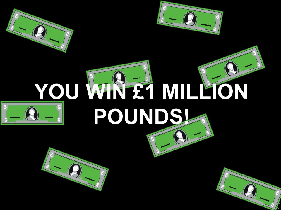 Oooh!!! That's not the right answer But congratulations, you have won £32,000. Next contestant, please. Start a new game