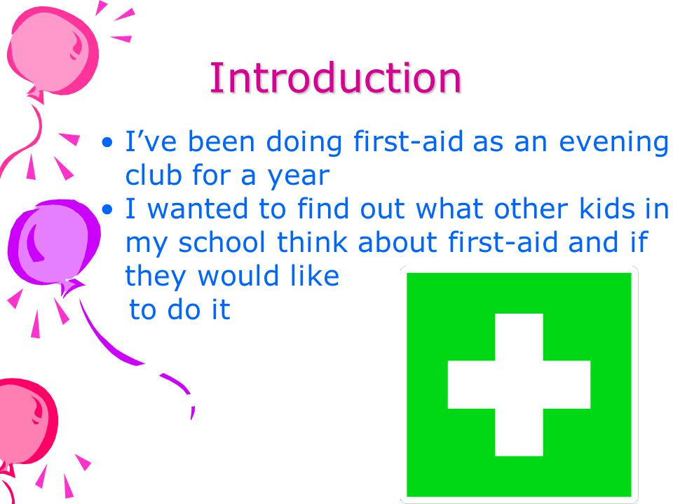 Do children go to a first-aid club outside school?