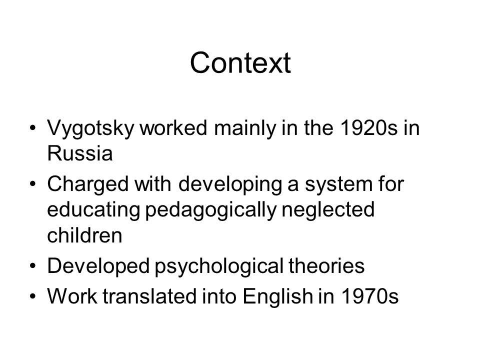 But… Vygotsky's..theory..resembles a city...