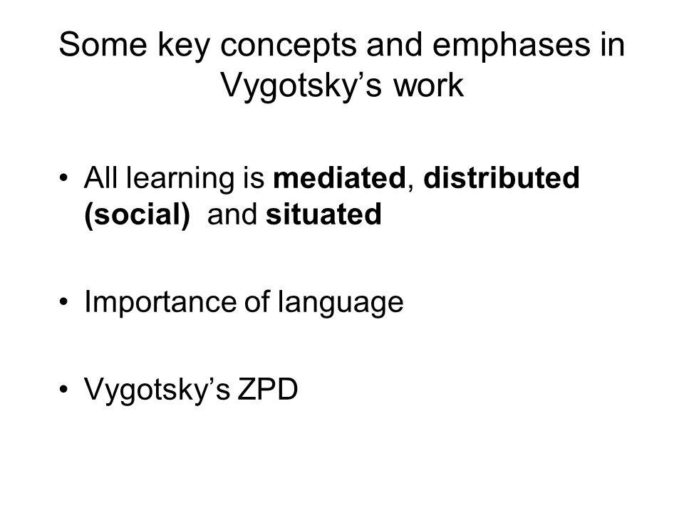 Luckin's work on ZPD I….