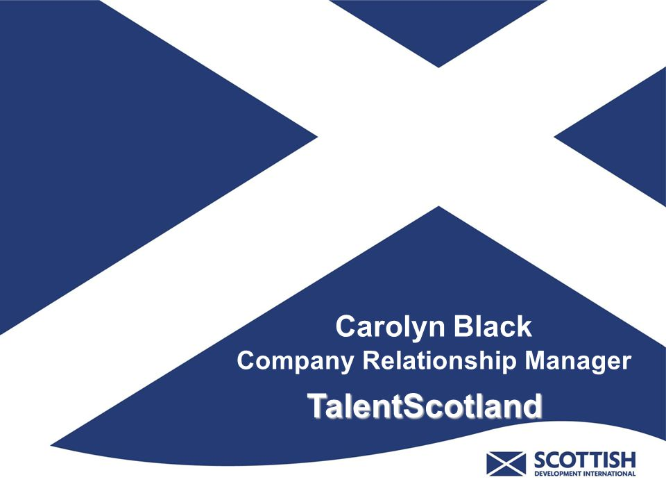 Carolyn Black Company Relationship Manager TalentScotland