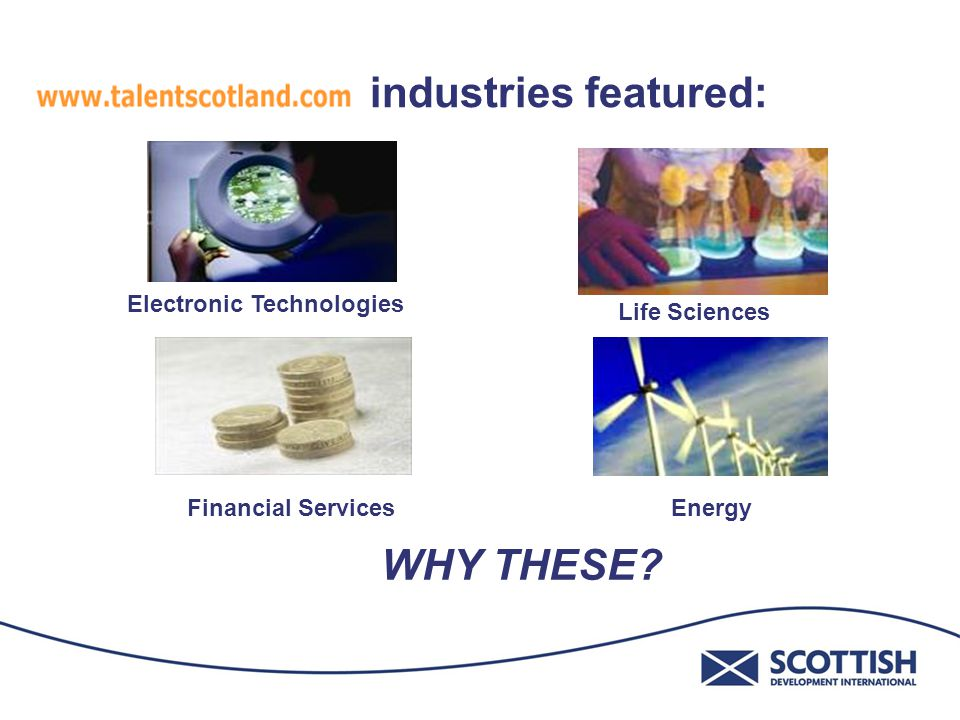 publicly funded by Scotland's Enterprise, Innovation and Investment agency Helps deliver the economic strategy of long term sustainable growth driven by increased productivity, population growth and economic participation.