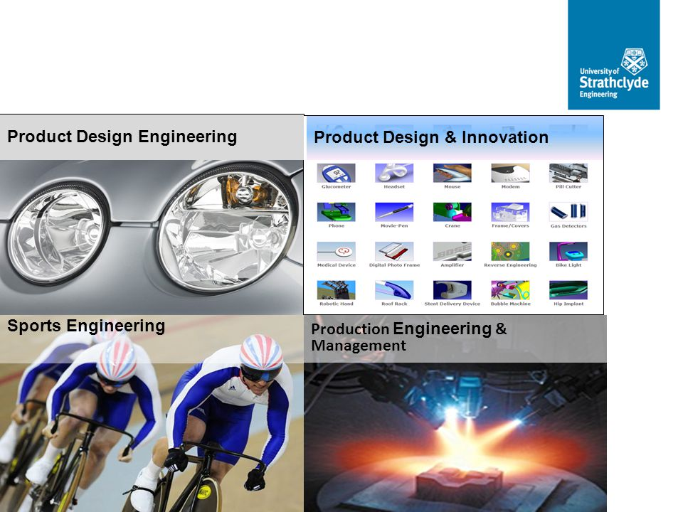 Product Design Engineering Product Design & Innovation Sports Engineering Production Engineering & Management