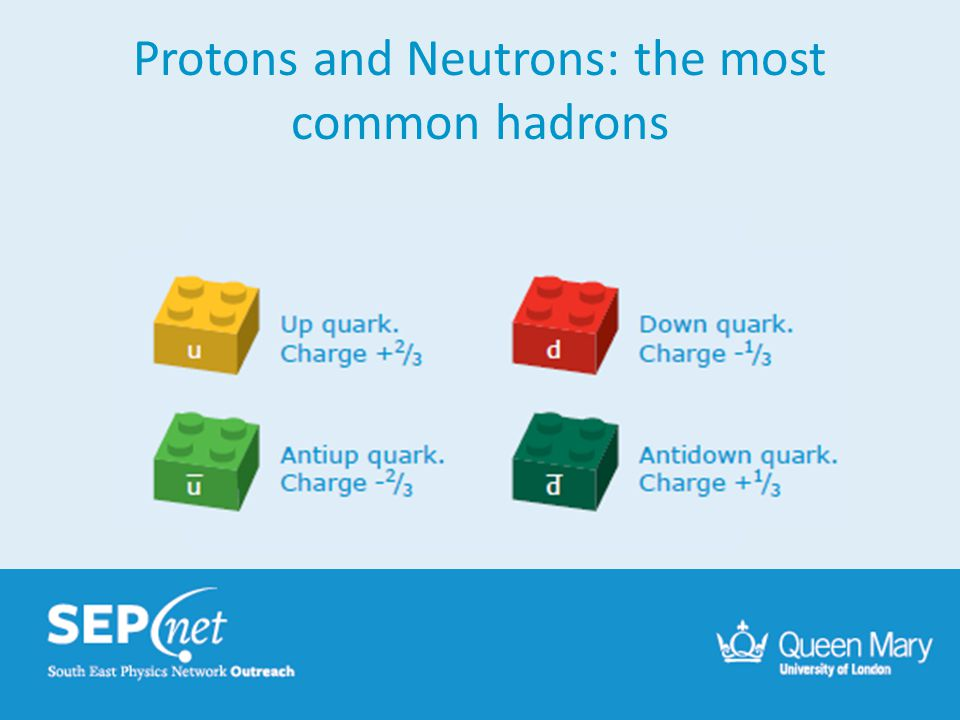 Protons and Neutrons: the most common hadrons