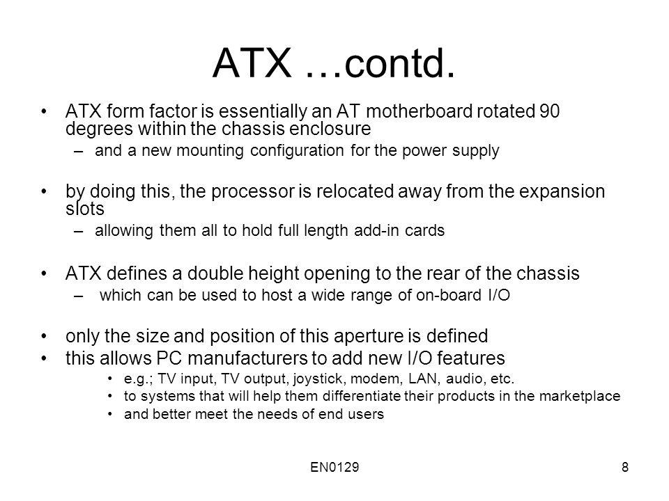 EN01298 ATX …contd.