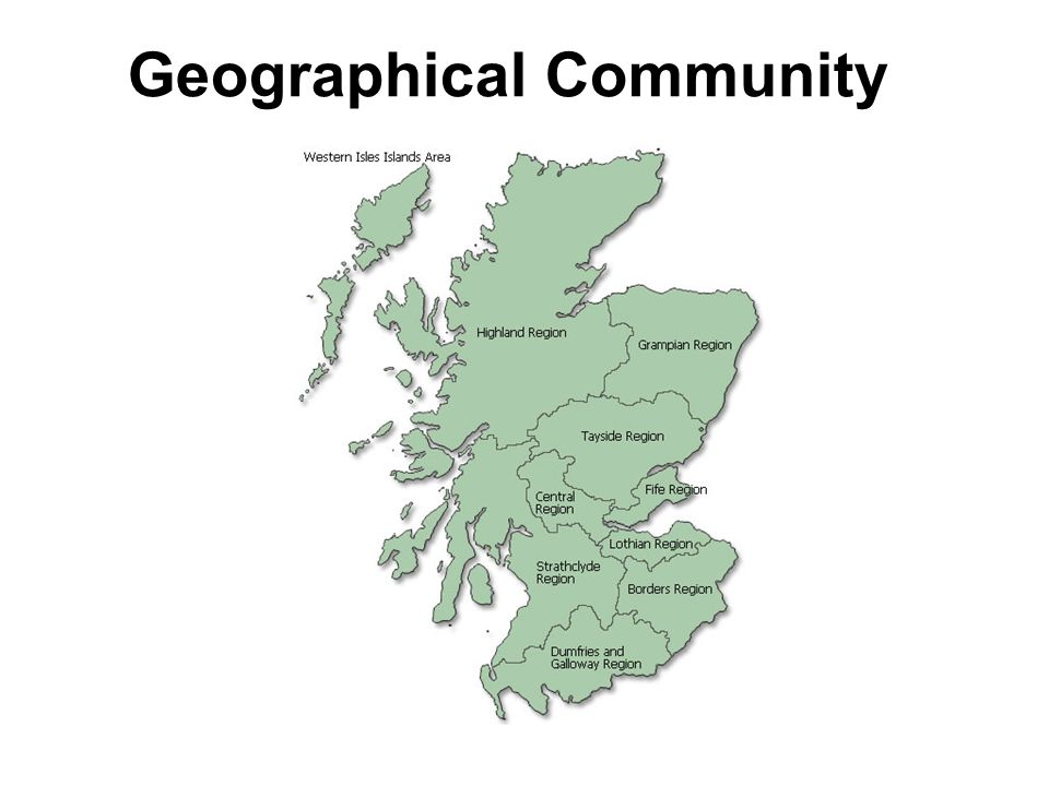 Geographical Community