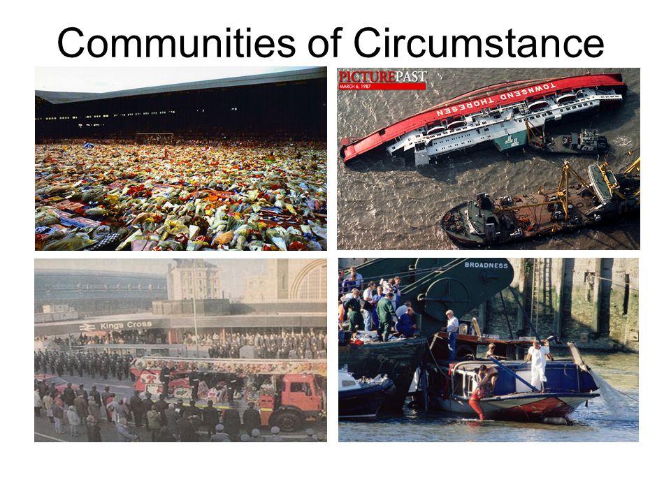 Communities of Circumstance