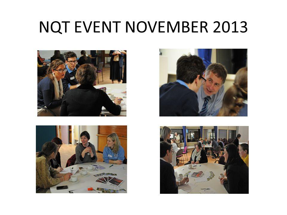 NQT EVENT NOVEMBER 2013