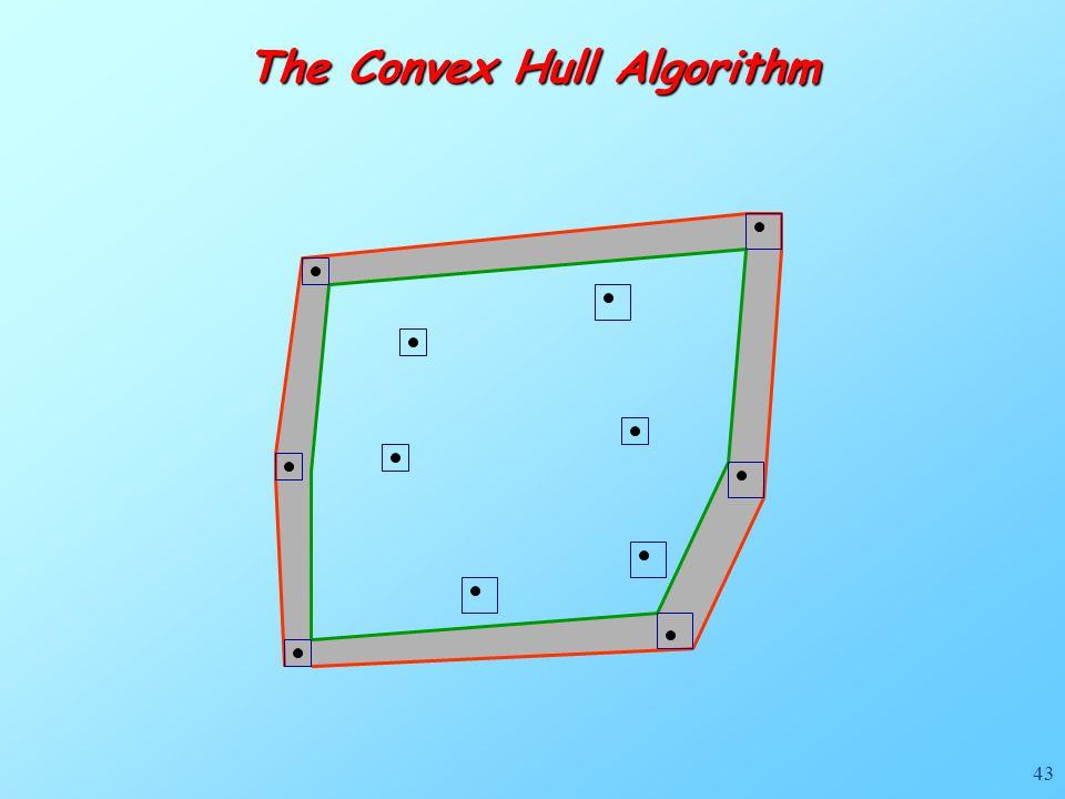 43 The Convex Hull Algorithm