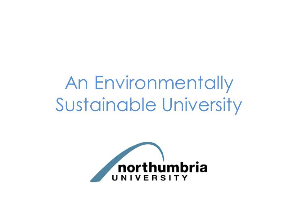 An Environmentally Sustainable University
