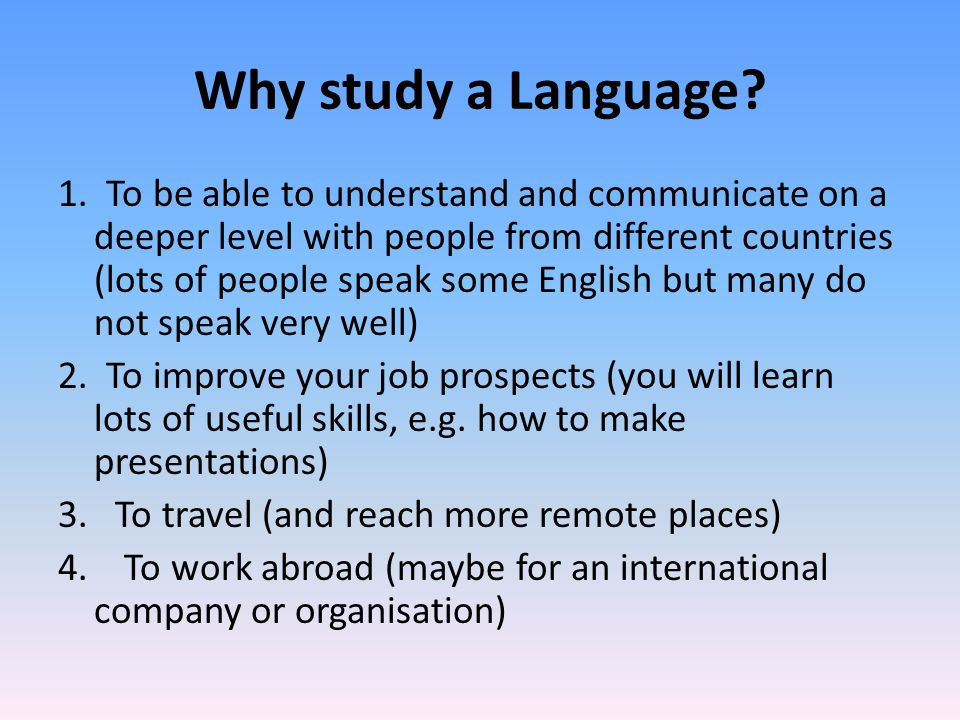 Jobs for Graduates with Languages