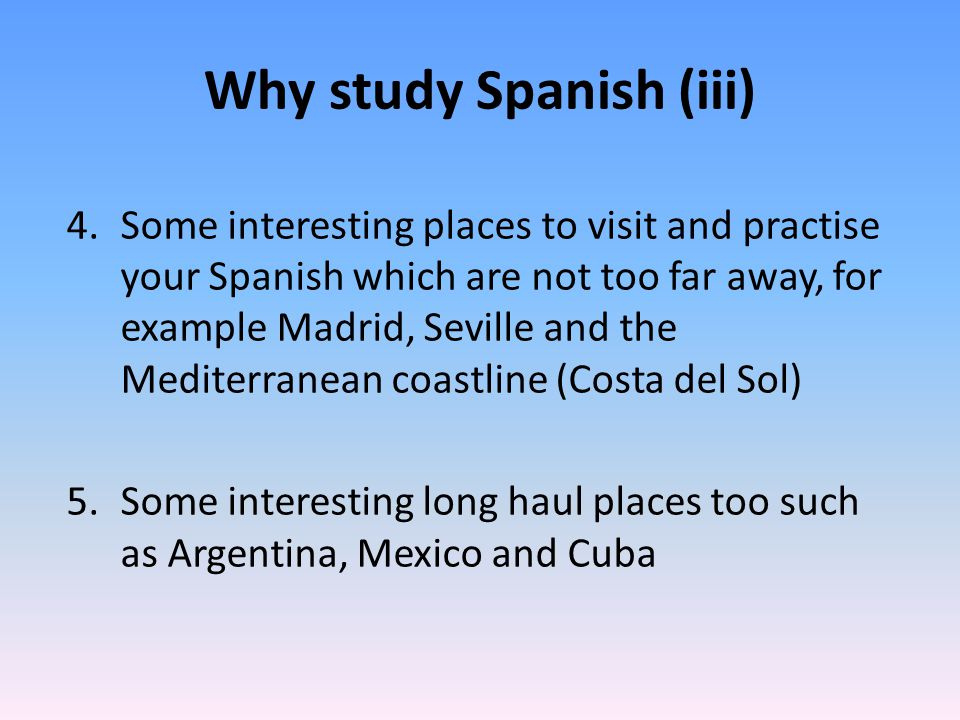 How can I study a language at University (i).1. ONE language in depth, e.g.