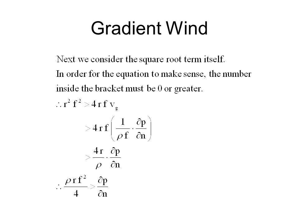 Gradient Wind