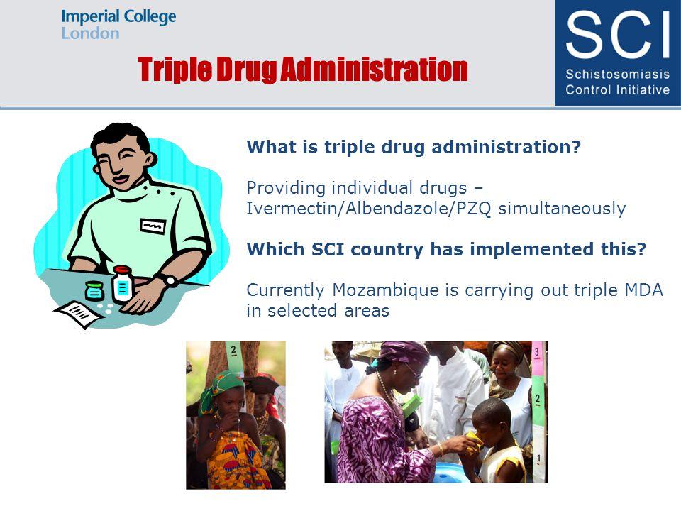Challenges & Benefits of triple drug administration Benefits.