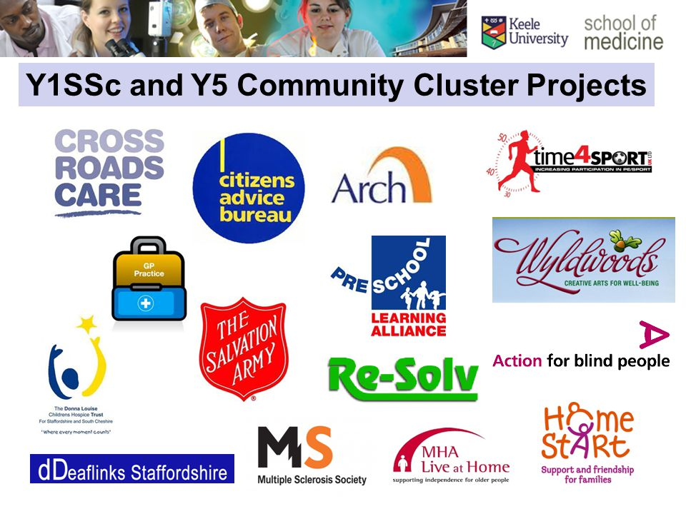 Y1SSc and Y5 Community Cluster Projects