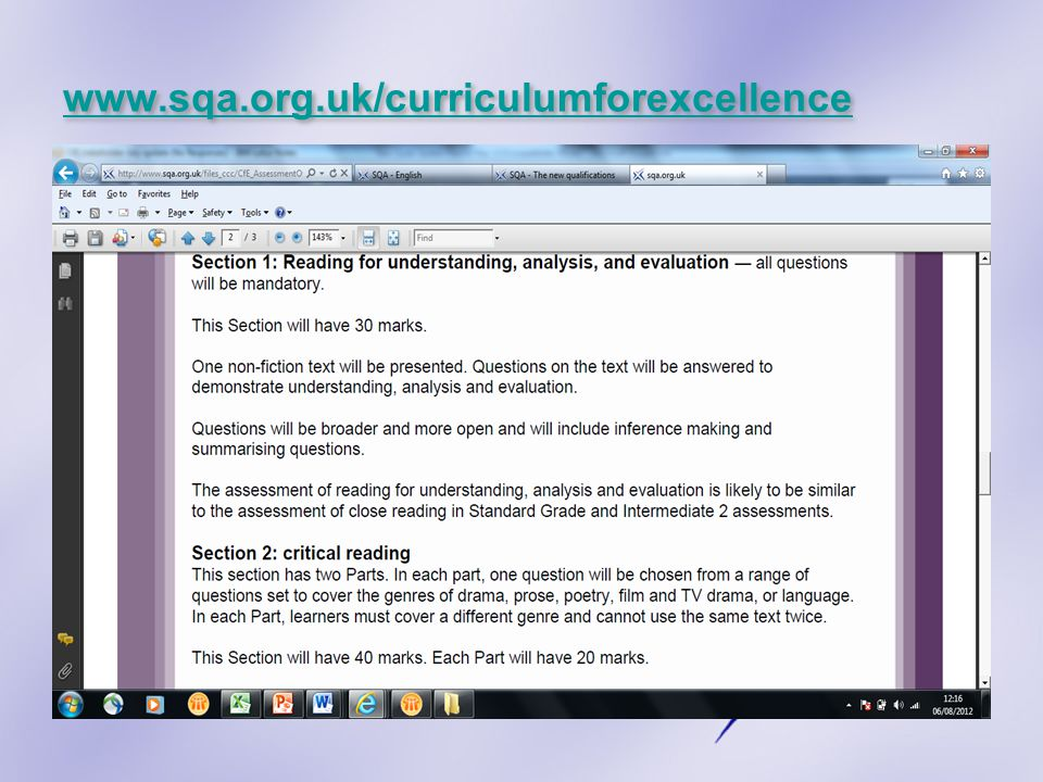 www.sqa.org.uk/curriculumforexcellence
