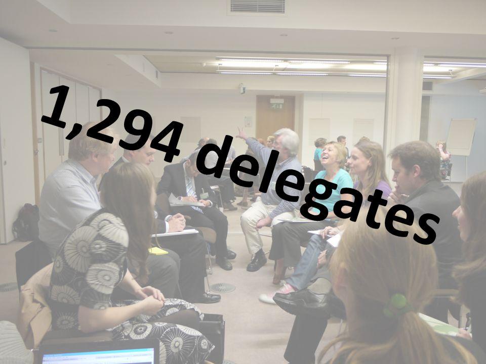 1,294 delegates
