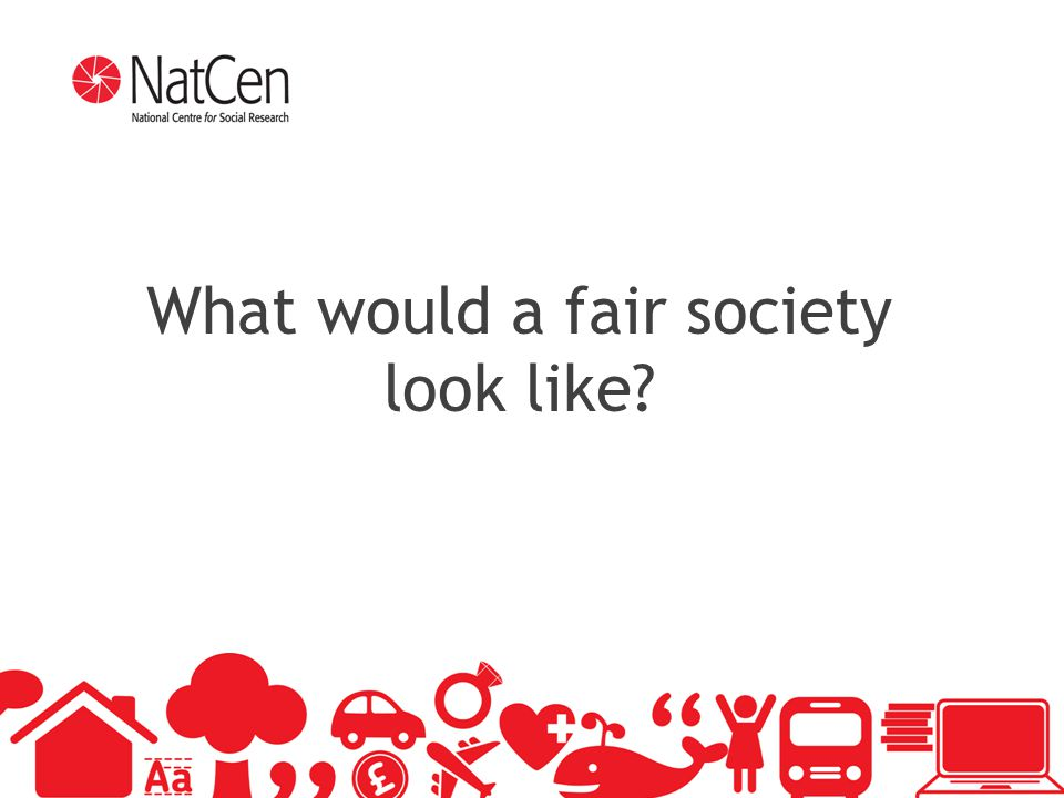 3 What would a fair society look like?